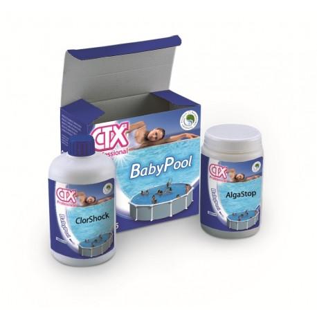 Kit traitement de l 39 eau petite piscine baby pool ctx for Produit traitement petite vrillette