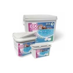 CTX 393 - Galet de chlore 250g multiaction (bactéricide, algicide, floculante)