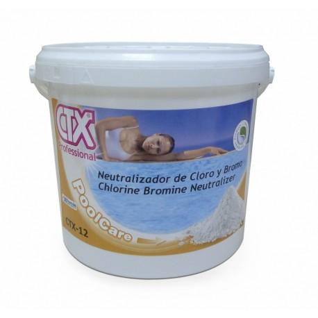 CTX 12 - Neutralisateur Chlore/Brome 6KG