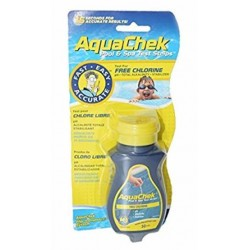 Bandelette d'analyse de piscine Aquacheck Jaune : Chlore