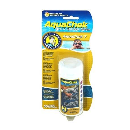 Bandelette d'analyse Aquacheck 7 fonctions